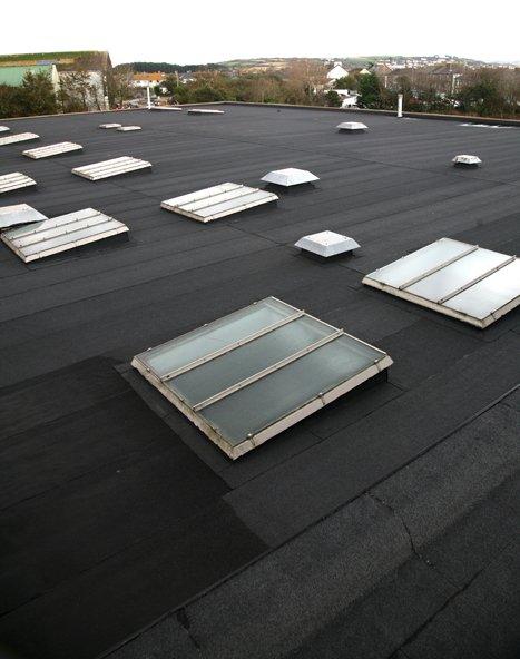 A felt roof solution